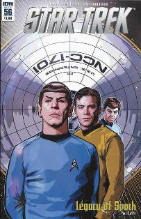 Star Trek #56 cover
